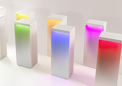 おしゃれなうえに実用的…。1600万パターンの色を表現して光るBluetoothスピーカー「Cromatica」   ギズモード・ジャパン