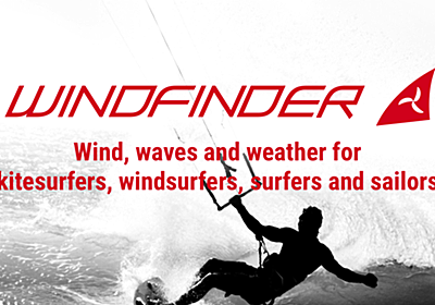 Windfinder - wind, wave & weather reports, forecasts & statistics worldwide