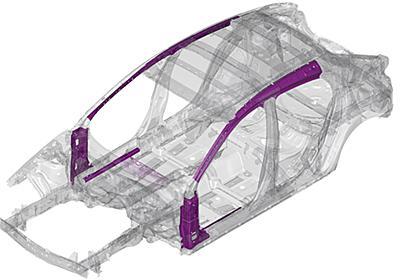 マツダ、1310MPa級高張力鋼板を世界初開発。新型「Mazda3」から順次採用 - Car Watch