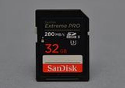 【平澤寿康の周辺機器レビュー】SanDiskのUHS-II対応SDカードと高速USBメモリを試す - PC Watch