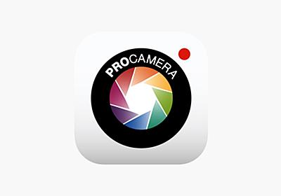 ProCamera. on the AppStore
