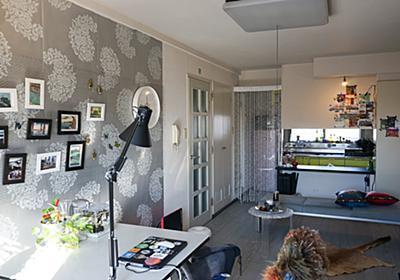 賃貸だけど、壁と床と照明をオシャレにしたかった   goodroom journal