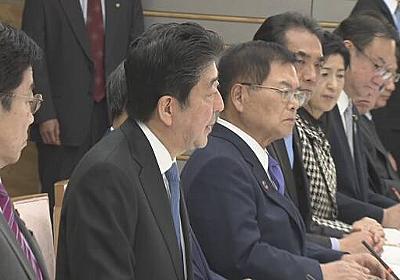 新型ウイルス 感染拡大防止へ先手の対応を 首相が指示 | NHKニュース