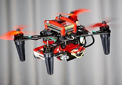 ドローンが空中で故障しても墜落を防ぐ技術 ローターの代わりに機体を高速回転:Innovative Tech - ITmedia NEWS