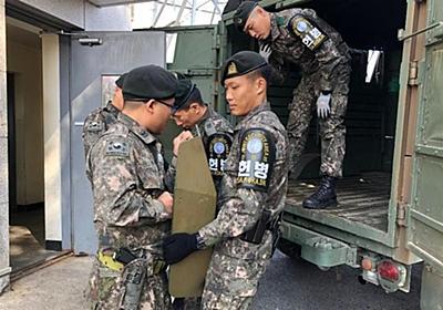 CNN.co.jp : 南北と国連軍、共同警備区域を非武装化 武器弾薬を撤去
