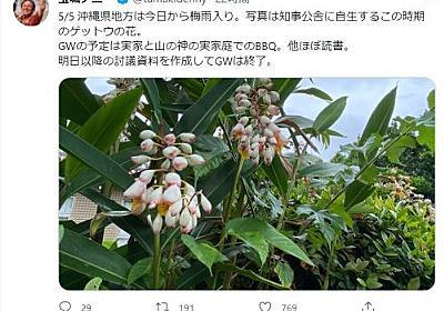 玉城知事「妻の実家でBBQ」 ツイッター投稿に批判相次ぐ - 琉球新報デジタル|沖縄のニュース速報・情報サイト