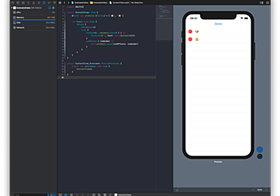 Deletable Table with TextField on SwiftUI - がんばってなんか書く