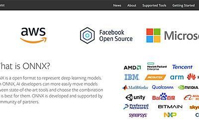 ONNXがブラウザで動かせる「ONNX.js」誕生。Web×深層学習が一気に加速する   Ledge.ai