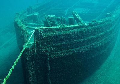 なぜ「沈没船の鋼」が放射線を検出するガイガーカウンターに用いられてきたのか? - GIGAZINE