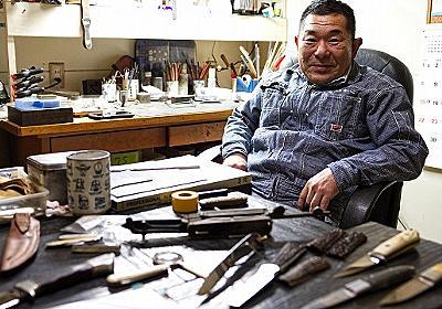 世界一のカスタムナイフ作家から学ぶ「ナイフ入門」 :: デイリーポータルZ