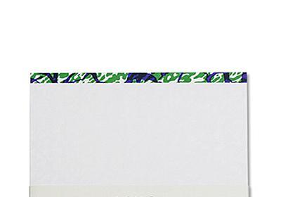 会社で使う伝票の背貼テープ。なんであの柄なのか知ってますか?
