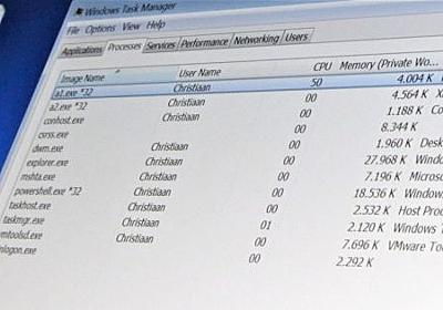 Windowsの「タスクマネージャー」を開発した本人が直々に使い方や知られざる機能を伝授 - GIGAZINE