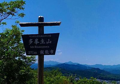 超初心者におすすめする関東の山 「天覧山」 高尾山や筑波山で挫折しそうな方のために - たのおか旅行ノート