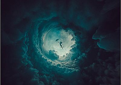 Photoshopを使った簡単で素敵なテクニック!螺旋状に伸びる丸い空間を描くチュートリアル -Round Things | コリス