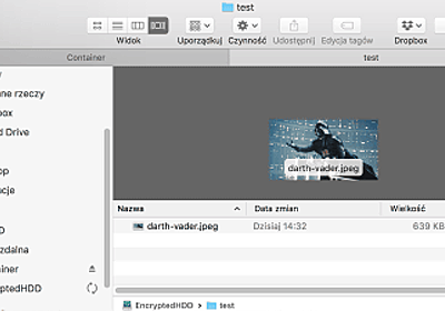 macOSの「クイックルック」は暗号化ドライブのファイルまでキャッシュしており、データは永続的に保管されいつでも閲覧できる - GIGAZINE