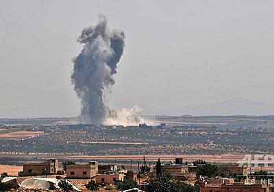 トルコ軍がシリアに越境、政権側の空爆で足止め 写真7枚 国際ニュース:AFPBB News
