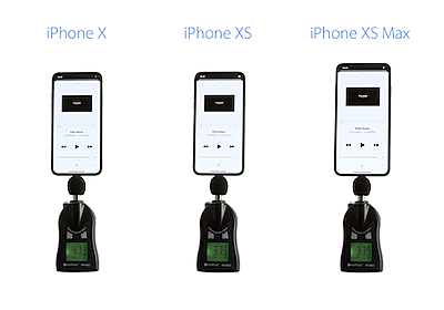 iPhone XS/XS Maxのスピーカー、音量アップは本当?iPhone Xと比較 - iPhone Mania