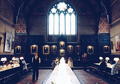 英国のオックスフォード大学は学生寮に空きがあると宿泊できる!「ハリーポッターの学食さながらの体験が出来る」「これ寮なの?!高級ホテルじゃなくて?!」 - Togetter