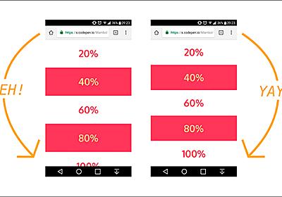 [CSS]知っておくと便利!スマホで要素を高さいっぱいに表示したいのに、期待通りに表示されない時の解決方法 | コリス