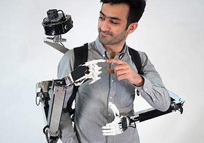 慶應義塾大学大学院と東京大学、VRで遠隔操作されるロボットアーム2本と同じ物理空間で共同作業可能なVRテレコラボレーションシステムを発表 | Seamless