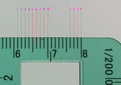 1cmあたりの目盛りが9mm分しかない? トライテック社の建築士試験用「製図定規」に一部不具合 - ねとらぼ