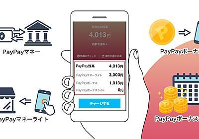 PayPay(ペイペイ)マネーライトやボーナスライトの違いを解説!PayPay残高の変更点の最新情報も | マネ会 キャッシュレス by Ameba