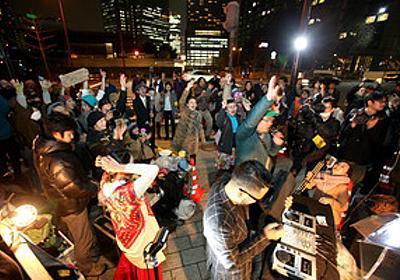 首相官邸前がディスコに 「世界平和祈って踊ります」:朝日新聞デジタル