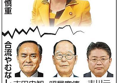社民党に分裂危機 国会議員4人中3人が離党の可能性:朝日新聞デジタル