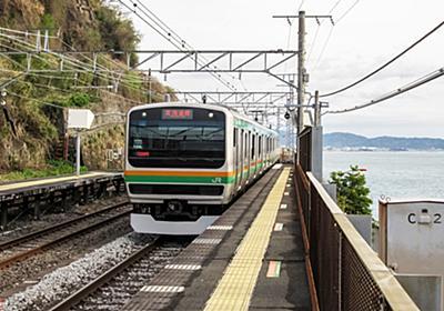 列車もろとも「消えた」根府川駅 語られぬ関東大震災最大の鉄道被災地 谷を駆けた土石流   乗りものニュース
