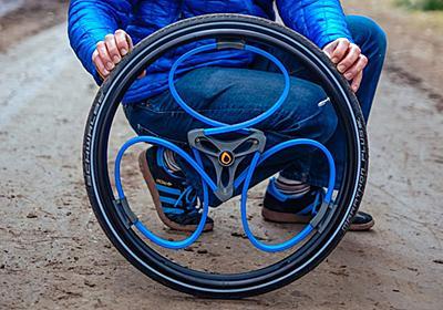 スポークのない車輪の「再発明」 « WIRED.jp