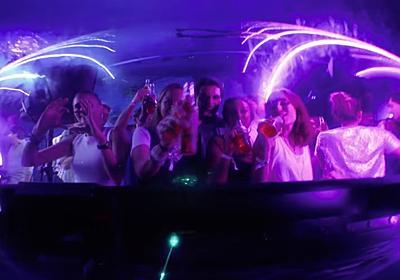 世界一深い水の中で開催されたパーティー「Desperados Deep House | PARTY IN THE WORLD'S DEEPEST POOL」 | mifdesign_antenna