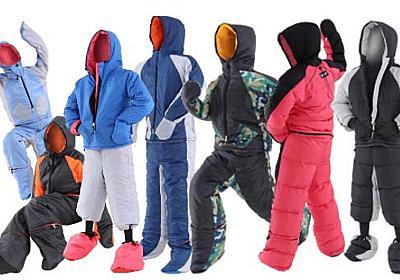「動ける寝袋」にセパレート型 寝袋がジャケットや防寒パンツに変身 - ITmedia NEWS