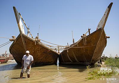 チグリス・ユーフラテス川が干上がる? 上流のダム建設で流量激減 写真7枚 国際ニュース:AFPBB News