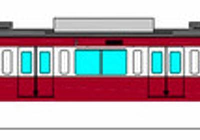 幸運の赤い電車 京浜急行の車両、西武で運行:朝日新聞デジタル