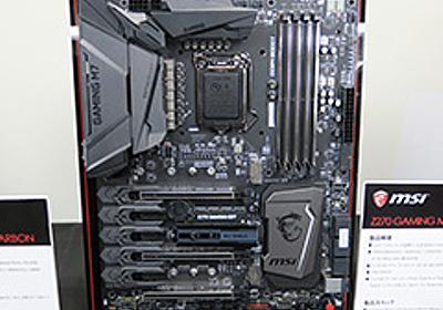 Kaby Lake-S対応のIntel 200シリーズチップセット搭載マザーボードが各社から一斉に発表。販売は1月6日から - 4Gamer.net
