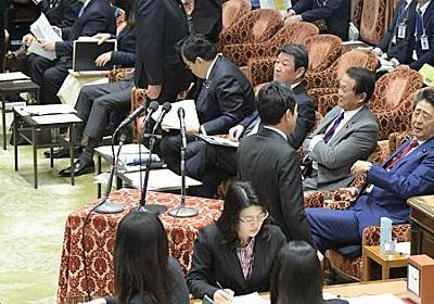 「意味のない質問だよ」 首相ヤジ「開き直り発言」詳報 - 毎日新聞
