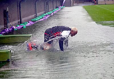 ラグビー日本代表 スコットランド戦に向け台風の中練習を強行 - ライブドアニュース