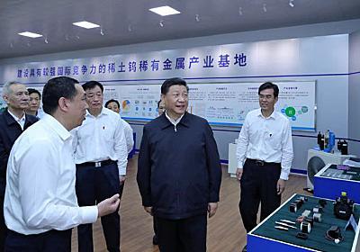 中国、レアアースで米けん制 米は輸入の8割依存  :日本経済新聞