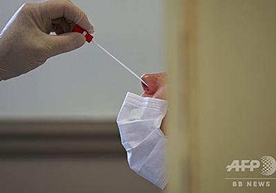 まれな病気の患者、鼻からのコロナ検査で脳髄液漏出 米論文 写真1枚 国際ニュース:AFPBB News