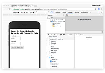 Learn How To Debug JavaScript with Chrome DevTools – codeburst