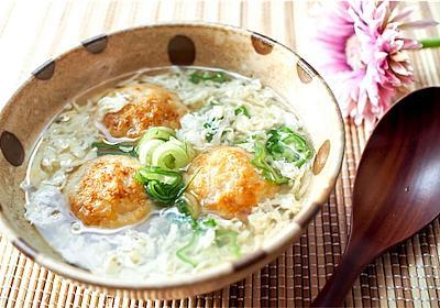 冷凍たこ焼きをアレンジで高級な味に!?しんじょ風スープの作り方。 - ひろさんきっちん♪薄味でも満足な魔法レシピ