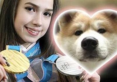 痛いニュース(ノ∀`) : ザギトワ選手に秋田犬を贈呈 「『マサル』という名前にします。女の子です。日本語で、勝利という意味ですよね」 - ライブドアブログ