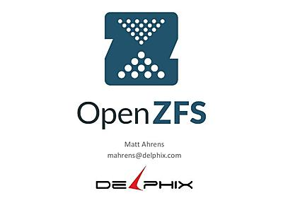 OpenZFS send and receive