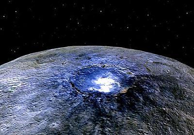 火星と木星の間にある準惑星ケレスの地下に「海」が広がっている可能性があると判明 - GIGAZINE
