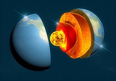 地球のコア(核)は25億年前からダダ漏れだった(カナダ・フランス・オーストラリア共同研究) : カラパイア
