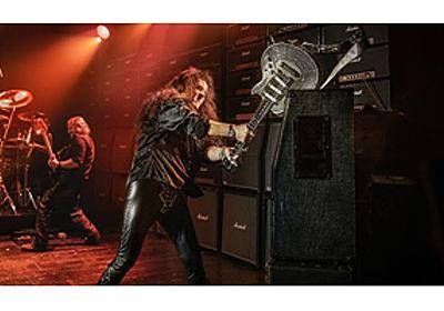 対イングヴェイ・マルムスティーン用ギター「世界初の壊れないギター」完成、イングヴェイによる耐久テスト実施 映像公開 - amass