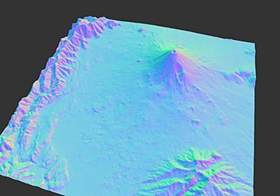 MARTINI: Real-Time RTIN Terrain Mesh / Vladimir Agafonkin / Observable