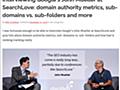 ドメインオーソリティに似ていなくもない指標をGoogleは持っている。サブドメイン vs. サブディレクトリは「サイト」の区分けに依存する | 海外SEO情報ブログ