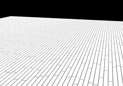 LightWave でフローリングや床模様を描く - 100光年ダイアリー