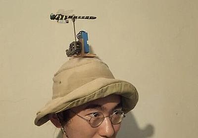 頭上でオニヤンマの模型を飛ばすと蚊が来ないらしい :: デイリーポータルZ